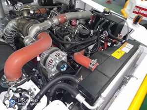 Cummins Euro 4 engine & PST2 gear-box